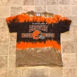 🏈Vintage Cleveland Browns Tie Dye Tee Shirt🏈